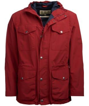 Men's Barbour Richmond Waterproof Jacket - Lobster Red