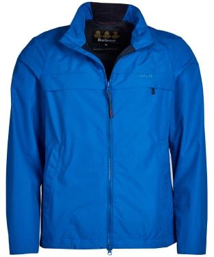 Men's Barbour Skerries Waterproof Breathable Jacket - Frost Blue