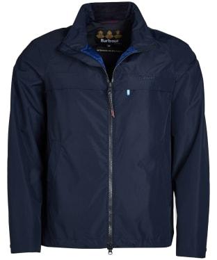 Men's Barbour Skerries Waterproof Breathable Jacket - Navy