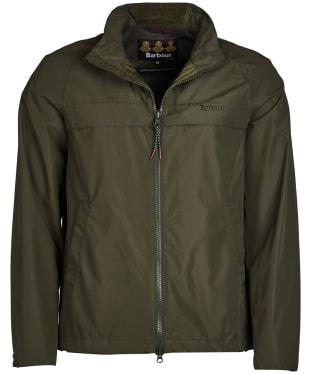 Men's Barbour Skerries Waterproof Breathable Jacket - Olive