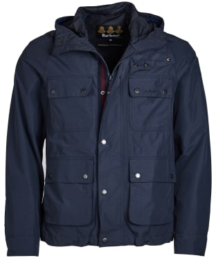 Men's Barbour Hallow Waterproof Jacket - Navy
