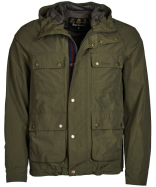 Men's Barbour Hallow Waterproof Jacket - Olive