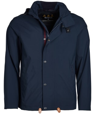Men's Barbour Clanfield Waterproof Jacket - Navy