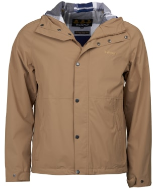 Men's Barbour Noden Waterproof Jacket - Sand