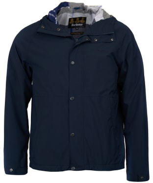 Men's Barbour Noden Waterproof Jacket - Navy