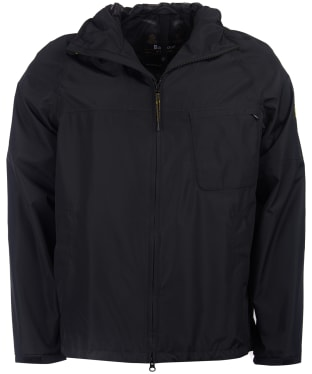 Men's Barbour International Grange Waterproof Parka - Black