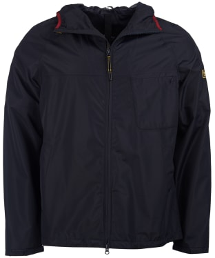 Men's Barbour International Grange Waterproof Parka - Navy