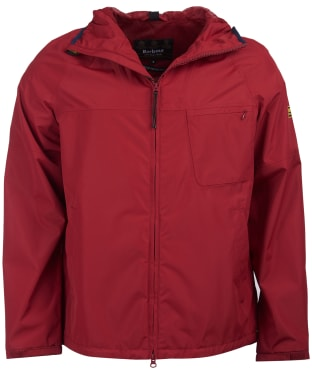 Men's Barbour International Grange Waterproof Parka - Biking Red