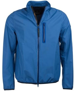 Men's Barbour International Ranson Waterproof Jacket - Grey Blue