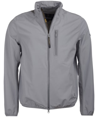 Men's Barbour International Ranson Waterproof Jacket - Soft Grey