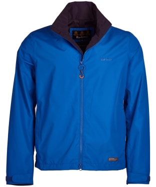 Men's Barbour Rye Waterproof Jacket - Electric Blue