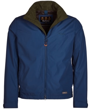 Men's Barbour Rye Waterproof Jacket - Peacock Blue