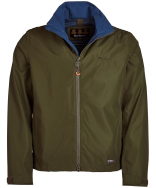 Men's Barbour Rye Waterproof Jacket - Rifle Green