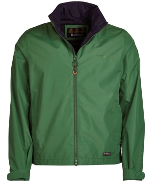 Men's Barbour Rye Waterproof Jacket - Lawn Green