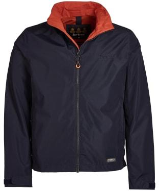 Men's Barbour Rye Waterproof Jacket - Navy