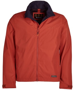 Men's Barbour Rye Waterproof Jacket - Sunset Orange