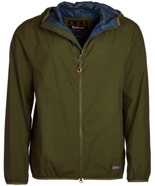 Men's Barbour Cairn Waterproof Jacket - Rifle Green
