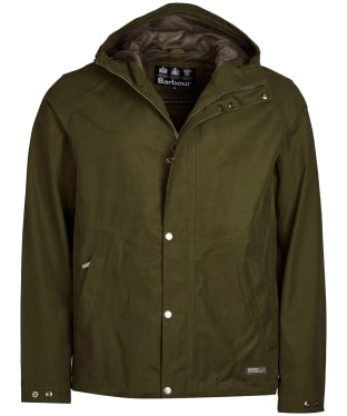 Men's Barbour Charlie Waterproof Jacket - Rifle Green