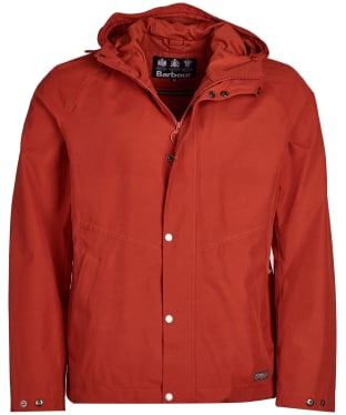 Men's Barbour Charlie Waterproof Jacket - Sunset Orange