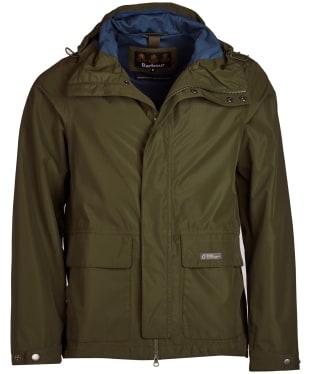 Men's Barbour Foxtrot Waterproof Jacket - Rifle Green