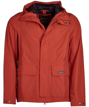 Men's Barbour Foxtrot Waterproof Jacket - Sunset Orange
