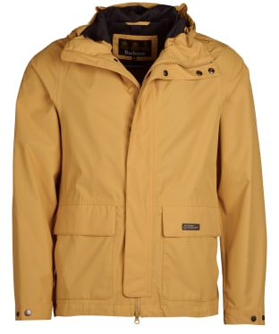 Men's Barbour Foxtrot Waterproof Jacket - Harvest Gold