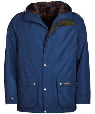 Men's Barbour Camber Waterproof Jacket - Peacock Blue