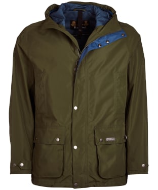 Men's Barbour Camber Waterproof Jacket - Rifle Green
