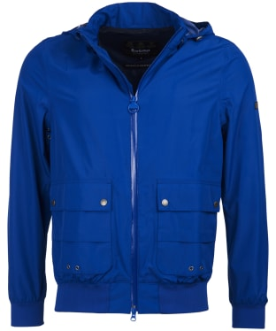 Men's Barbour International Eavers Waterproof Jacket - Charge Blue