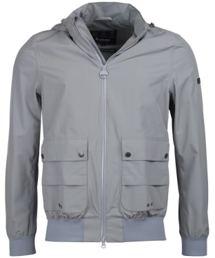 Men's Barbour International Eavers Waterproof Jacket - Soft Grey