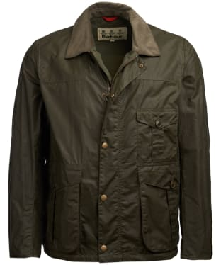 Men's Barbour Dalby Wax Jacket - Archive Olive
