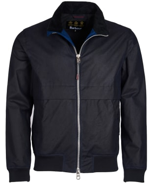 Men's Barbour Rona Waxed Jacket - Royal Navy