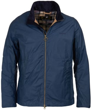 Men's Barbour Lightweight Admiralty Waxed Jacket - Dark Denim