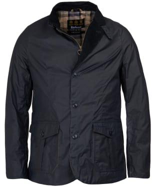 Men's Barbour Lightweight Sander Wax Jacket - Royal Navy