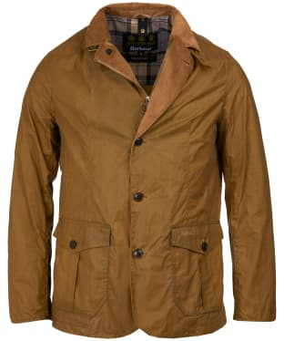Men's Barbour Lightweight Sander Wax Jacket - Sand