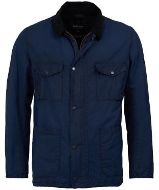 Men's Barbour Steve McQueen Lawtell Waxed Jacket - Royal Navy