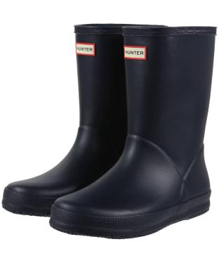 Hunter Kids First Classic Wellington Boots - Navy