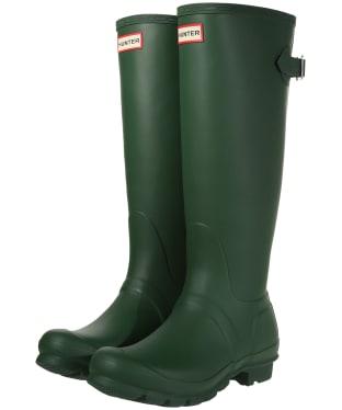 Women's Hunter Original Back Adjustable Wellington Boots - Hunter Green