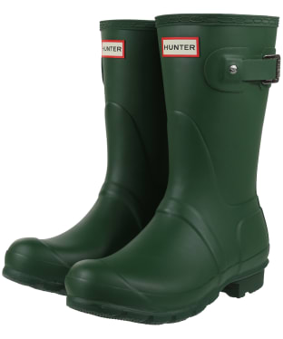 Women's Hunter Original Short Wellington Boots - Green