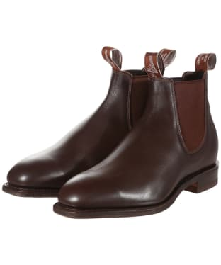 R.M. Williams Dynamic Flex Craftsman Boots - Yearling leather, dynamic flex sole - H (Wide) Fit - Chestnut