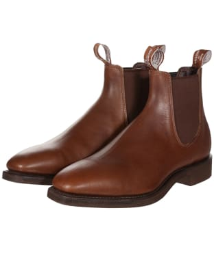 Men's R.M. Williams Lachlan Boots - H (Wide) Fit - Brown