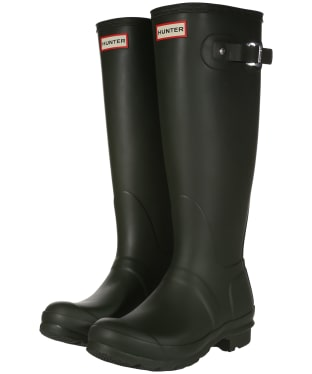 Women's Hunter Original Tall Wellington Boots - Dark Olive