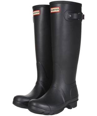 Women's Hunter Original Tall Wellington Boots - Dark Slate