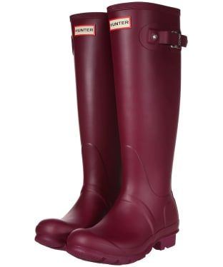 Women's Hunter Original Tall Wellington Boots - Violet