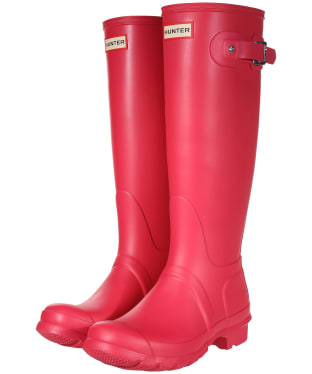 Women's Hunter Original Tall Wellington Boots - Bright Pink