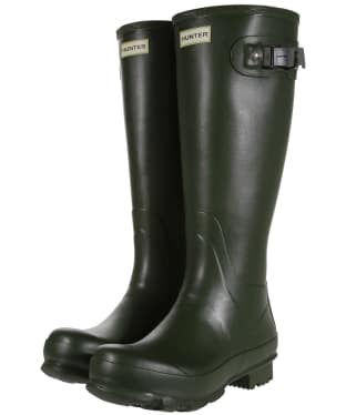 Men's Hunter Norris Field Wellington Boots - Vintage Green