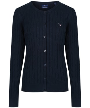 Women's GANT Cable Crew Cardigan