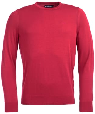 Men's Barbour Light Cotton Crew Neck Sweater - Sorbet