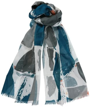 Women's Seasalt New Everyday Scarf - Print Process Ecru