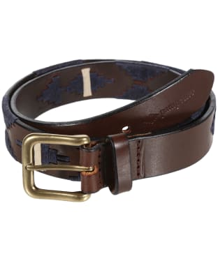 pampeano Leather Polo Belt - Astro